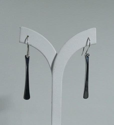 925 Sterling Silver  Hand Crafted Designer Drop Earrings